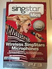 Wireless Singstar Microphones - PS2 and PS3 Compatible