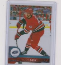 17-18 2017-18 UPPER DECK VICTOR RASK CLEAR CUT BASE PARALLEL 285 HURRICANES
