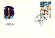 Russia - Space - Savitskya on Fdc cover 1983 year