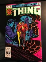 The Thing Volume 1 #2 August 1983 Marvel Comics Stan Lee
