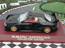 SCALEXTRIC SUBARU BLACK  C2203  LIMITED EDITION  1.32 NEW OLD STOCK BOXED