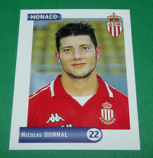N°180 BONNAL AS MONACO ASM LOUIS II PANINI FOOTBALL FOOT 2001 2000-2001
