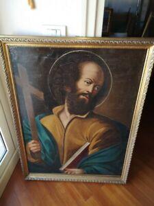 dipinto del 1800 - San Filippo apostolo firmato sul retro