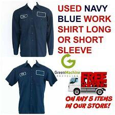Used Work Shirts Cintas, Redkap, Unifirst, G&K Navy Blue