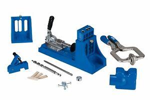 Kreg Pocket Hole Jig K4MS Master System for Woodworking DIY Projects Carpentry
