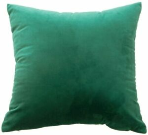 Soft Velvet Cushion 45x45cm Choice of Colour, Cover Only Or Filled Cushion