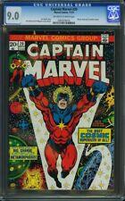 Captain Marvel #29 CGC 9.0 Early Thanos App