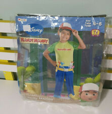 HANDY MANNY COSTUME SIZE 4-6 BOOK WEEK DRESS UP OUTFIT
