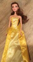 "Disney Princess Doll Belle~ From Beauty & the Beast 11.5"" Wonderful Shape"
