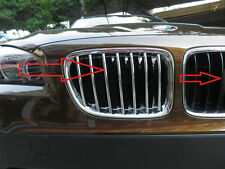 New Chrome Front Grille Cover Trim For BMW X1 E84 2010 2011 2012 2013 2014 2015
