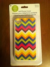 Devrian Global Industries brand cell phone cover iPhone 4 &  4S Colorful Zig Zag