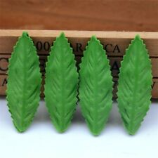 200pcs 6CM Artificial Silk Green Leaves Flower For Wedding Garland Decoration Ch