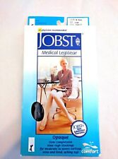 Jobst Knee High Support Stocking Firm Compression 20-30mmHg Navy Size Large