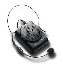 Loud Portable Voice Amplifier 12W Aker MR1505 Waistband MP3 6hrs microphone