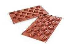 Stampo mini waffel tondi silicone Silikomart forno round rotondi SF 143 - Rotex