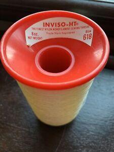 INVISO-HT The Finest Nylon Monofilament Seeing Thread