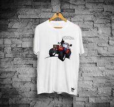 T-Shirt maniche corte uomo trattore 180-90 cartoon maglia per trattorista nuova
