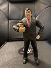 WWE Mattel Figure Lot Flashback Build A Figure Paul Bearer w Urn BAF Wrestling