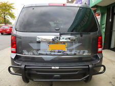 VANGUARD 08-12 FORD ESCAPE REAR BUMPER PROTECTOR GUARD DOUBLE TUBE B/K
