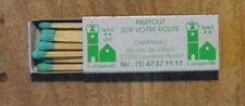 Boîte d'allumettes Campanile Levallois-Perretannées 1970-1980, à peu près pleine
