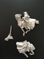 Warhammer Lord of The Rings LOTR - Mounted Ringwraith Pose 3 Metal OOP