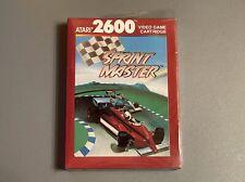 Sprint Master - Complete in Box - for Atari 2600 - Sprintmaster