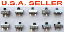 10 pcs SPDT Slide Switch PCB Mount 1 Amp at 125v AC and .5 Amp at 125v DC