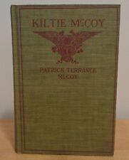 First Edition 1918 KILTIE MCCOY American Boy~Irish Name~Scotch Army ~ WWI