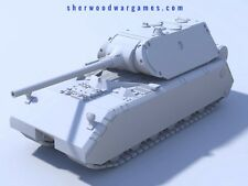 28mm German Maus (Mouse) In Resin By Blitzkrieg WWII Bolt Action,