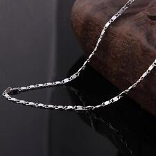 925 Sterling Silver Plated  STAMPED Figaro Style Chain Only $12 Each