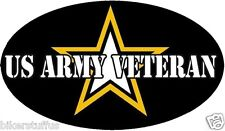 US ARMY VETERAN BUMPER STICKER TOOL BOX STICKER LAPTOP STICKER
