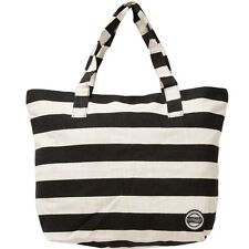2016 NWT WOMENS ELEMENT FREE SPIRIT BAG $45 black weekender tote stripes