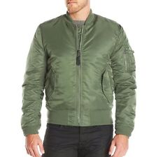 MA-1 Army Green Orange Resistant Reversible Men Air Flight Pilot Bomber Jacket