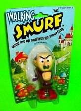 Vtg Smurfs Peyo Schleich RARE Wind-Up Walking GARGAMEL Action Figure Galoob 1982
