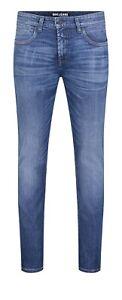 MAC Jeans Herren Arne Pipe Blau Größe: W34/L30, W35/L30, W36/30 modern fit