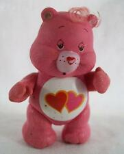 Vintage Care Bears PVC Poseable Figure Love-A-Lot Bear