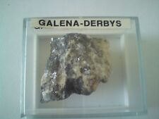 GALENA STONE IN DISPLAY CASE, APPROXIMATELY 30g