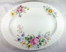 ROYAL DOULTON ARCADIA, OVAL SERVING PLATTER 13.5""