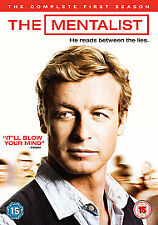 ~NEW~The Mentalist - The Complete First Season (DVD) Simon Baker, Robin Tunney