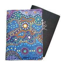 PASSPORT COVER/FOLDER/WALLET - AUSTRALIAN ABORIGINAL #15 by Graggie Australia*GA