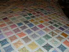 "SALE 1930""s Reproduction fabric Cathedral Window Pre Cut Quilt Kit~ Mini quilt"