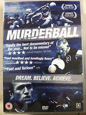MURDERBALL ~ 2004 Inspirador Quadriplegic / Quad Rugby Documental GB DVD
