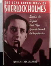 THE LOST ADVENTURES OF SHERLOCK HOLMES by KEN GREENWALD - MINT HARDCOVER! - 1993