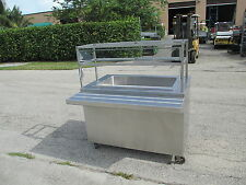 Portable Salad - Raw Bar Stainless Steel Ice Chest