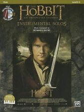 The Hobbit An Unexpected Journey Instrumental Solos Flute Film Music Book & CD