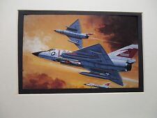 Convair F 106 Delta Dart Monogram Model Airplane Box Top Art Color  artist G2
