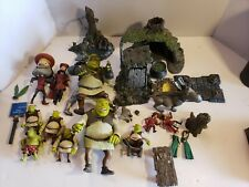 Shrek McFarlane 2001 Toy Lots Pre-owned Some Missing Pieces Check Pics