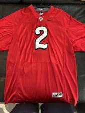 Ohio State Buckeyes Nike Red 1942 Throwback Football Jersey Xxl 2Xl #2 Sewn!