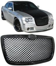Kühlergrill Grill IM Wabendesign schwarz für Chrysler 300C 04-11