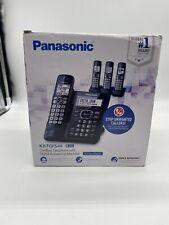 Panasonic 4 Handset Cordless Phone System 1.9 GHz KX-TGF544 Digital Answering